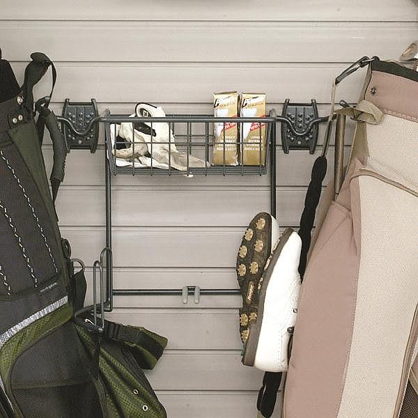 Schulte 7115 5010 50 Golf Bag Holder, Golf Bag Garage Storage